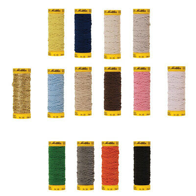 Premium Quality Mettler Elastic Thread Sewing Stitching Handcrafts Single Pack