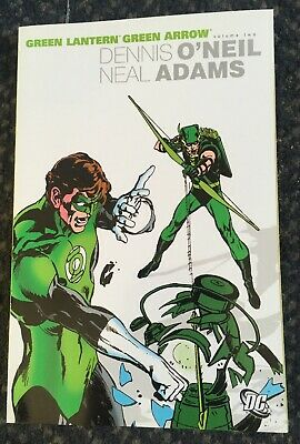 Green Lantern/Green Arrow TPB (DC) 2nd Edition 2-1ST 2004 VF Stock Image