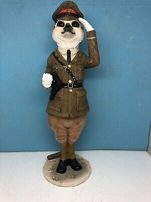 Country Artists Magnificent Meerkat Monty Ornament Figurine SIMPLES !