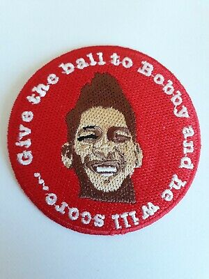 Roberto Bobby Firmino Embroidered patch LFC Liverpool Football Club FC 3""