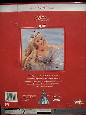 Holiday Celebration Barbie Special 2001 Edition Doll By Mattel #50304 NEW!