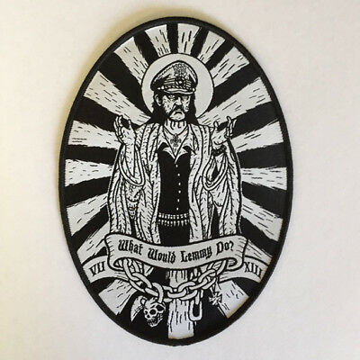 What would Lemmy do? Woven Patch by Seven 13 Productions Motorhead Forever WWLD
