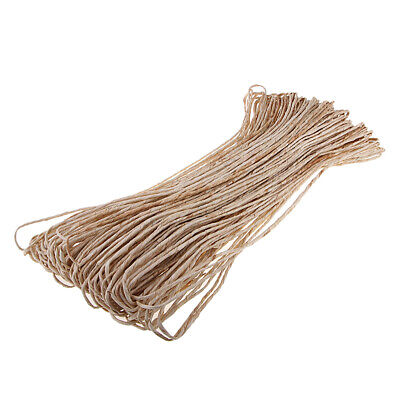 1.3kg Raffia Stripes Paper String Twisted Ribbon for Packing Wrapping Decor