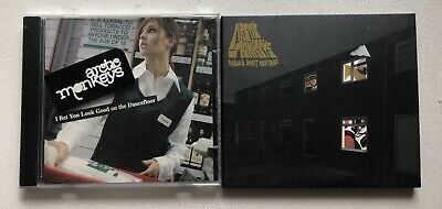 Arctic Monkeys - Favourite Worst Nightmare Cd Album + Promo Sticker