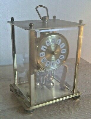 Vintage Kern  400 Day Anniversary Brass Clock Needs Attention ** NO RESERVE **