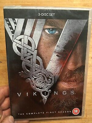 Vikings:Complete First Season/Series 1(3xDVD R2)New+Sealed Norse Saga One 1st