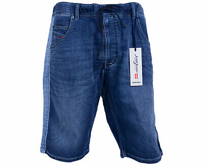 d161593547 DIESEL KROSHORT SPD NE 084IN Mens Denim JOGG Jeans Shorts Stretch Summer  Casual