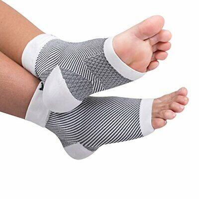 Large Ankle Compression Foot Arch Sleeves Socks - Comfortable to Wear Fabric
