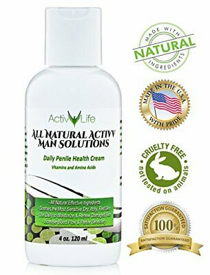 All Natural Penile Skin Repair Cream for Men by ActivLife (4oz)