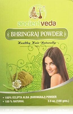 Bhringraj Powder Natural Remedy for Hair Loss & Premature Graying 7 oz (2 Pack)
