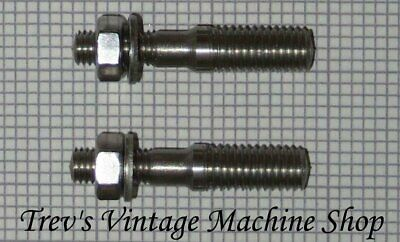 stainless steel exhaust studs /& nuts with washers Yamaha FZS 600 Fazer ES15