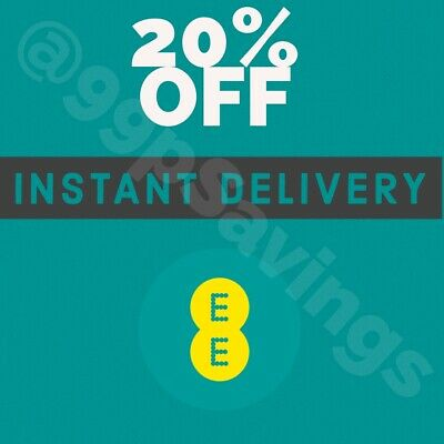 EE - 20% OFF Monthly Plans - INSTANT CODE