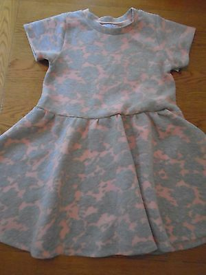 BNWT girls Little Pastilles pink & grey dress. Age 12 years.  1/5