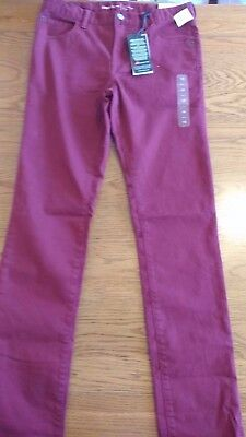 BNWT boys rose chino style trousers. 16 years regular skinny with stretch   1/12