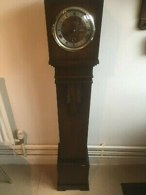 Art Deco Grandmother Westminster Chime Clock