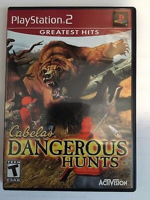 Sony Playstation 2 Game - Cabela's Dangerous Hunts COMPLETE