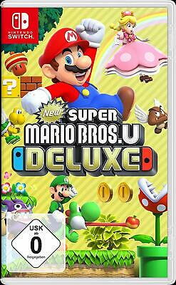 Nintendo Switch Spiel New Super Mario Bros. U Deluxe Disk Version NEU OVP Sofort