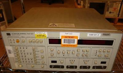 HP 3776B PCM Terminal Test Set OPT. 001  # 2638U01276