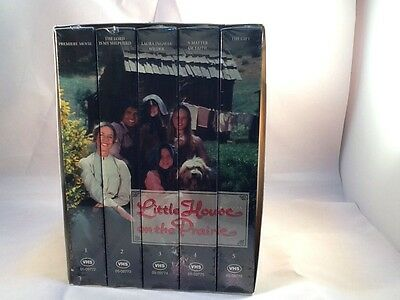 Little House on the Prairie Box Set VHS Collector Series 5 Pack NEW Factory seal