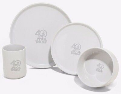 Star Wars 40th Anniversary Collector's Plate & Mug Set Limited to 2017 Pieces