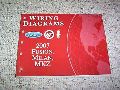 2007 ford fusion electrical wiring diagram manual s se sel 2 3l 3 0l v6 4cyl