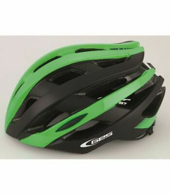 Casco Ges Icon-12 Road Mtb Verde/Negro T.m(54-58)