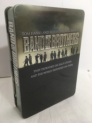 Band of Brothers Complete DVD Set 6 Discs with Collectible Tin