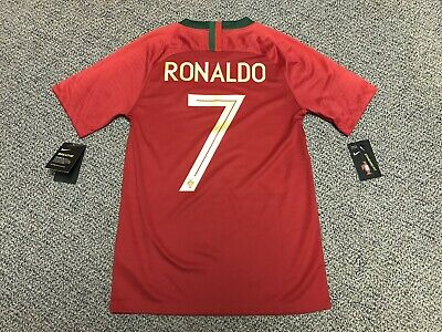 new concept 12afd 57197 NIKE CRISTIANO RONALDO Portugal Home Jersey World Cup 2018 ...