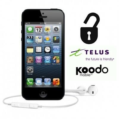 TELUS KOODO CANADA IPHONE SAMSUNG UNLOCK - Instant to Sameday