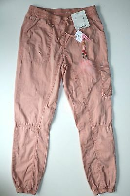 Next - Dusty Pink Casual Trousers Light Cotton Pants - Girl 10 Years - New
