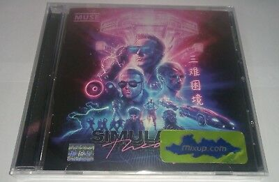 Muse Simulation Theory Cd Mexican Edition Mexico
