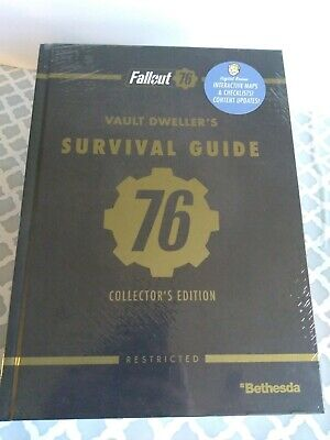 SEALED Fallout 76 Collector's Edition Guide Vault Dwellers W/EXTRAS ps4 xbox one