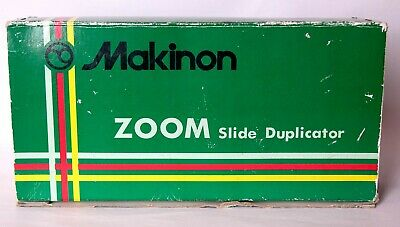 Makinon zoom slide copier fitted with Olympus T mount.