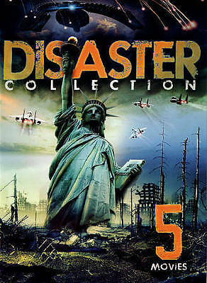 Disaster Collection: 5 Movies (DVD, 2015) Brand New Factory Sealed