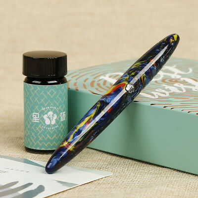 2f5181aabfc Collectibles LIY FUTURE white cloud fountain pen F nib