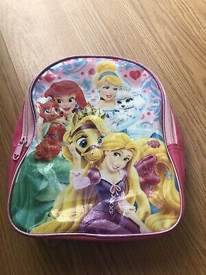 5d2d5cde909 Disney Pink PRINCESS PALACE PETS Toddler Mini Backpack