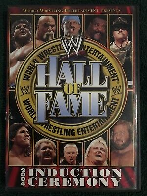 WWE Hall of Fame 2004 Induction Ceremony 3 hours of extras! Classic matches! DVD