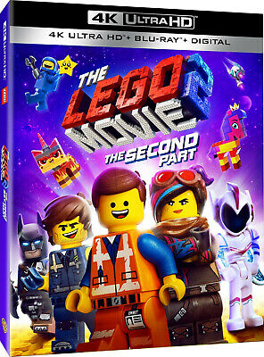 The Lego Movie 2: The Second Part 4K/Blu-ray (NO DIGITAL) 2019 Kids Comedy