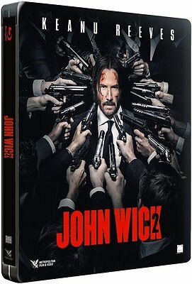 * Dent * John Wick: Chapter 2 (Limited Edition Steelbook) BLU-RAY NEW