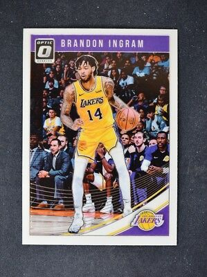 5cd6b365194 2018-19 Donruss Optic Base #64 Brandon Ingram - Los Angeles Lakers