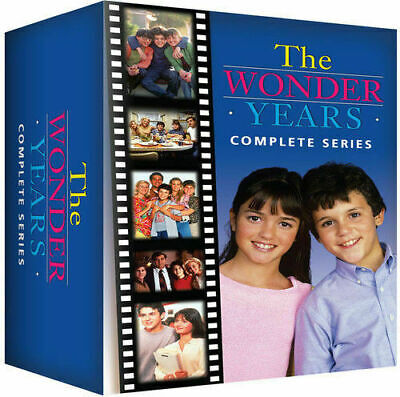 The Wonder Years: Seasons 1-6 (DVD, 22-Disc Set) The Complete Series 1 2 3 4 5 6