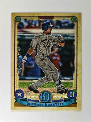 2019 Topps Gypsy Queen Base #54 Michael Brantley - Houston Astros