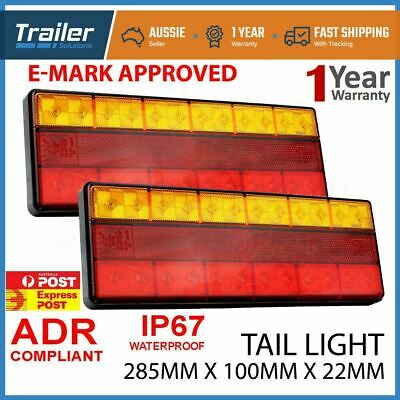 Led Trailer Lights Led Stop Tail Indicator Reflector Truck Camper Tail Light 12V