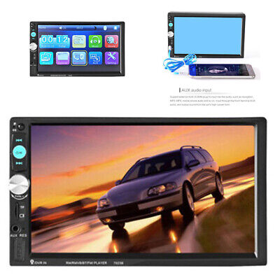 "Neue Mode 7 ""HD Autoradio 2DIN Navigation Navigation Bluetooth MP5 + Caméra"