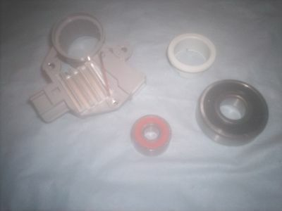 Ford 6G Alternator Repair Kit Voltage Regulator BrushesBearings MUSTANG PICKUPS