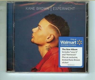 KANE BROWN Experiment CD Brand new Walmart Exclusive with sticker IN HAND