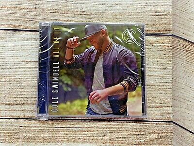 COLE SWINDELL All of It CD WB 2018 Sealed Brand NEW  12 Songs
