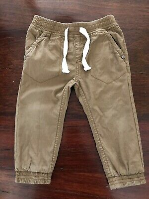 Sprout Brown Boys Pants Size 1