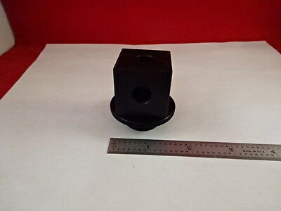 EMPTY OPTICAL MOUNTING HOUSING for BEAM SPLITTER or PRISM OPTICS AS IS #80-44