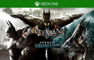 Batman Arkham Collection Knight City Asylum XBOX ONE GAME Digital Download Code